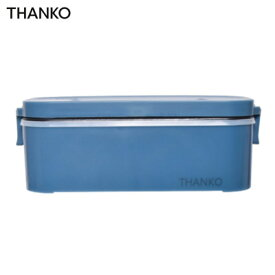 【返品OK!条件付】サンコー 1合炊き おひとりさま用超高速弁当箱炊飯器 TKFCLBRC-BL 藍色【KK9N0D18P】【60サイズ】