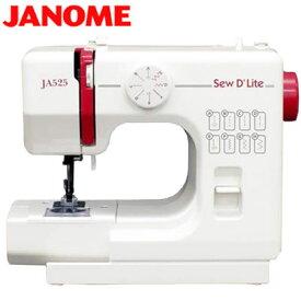 【返品OK!条件付】ジャノメ ミシン 電動ミシン JA525 JANOME 【KK9N0D18P】【120サイズ】