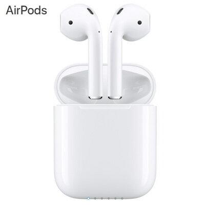 【即納】【返品OK!条件付】Apple アップル AirPods ワイヤレス イヤホン ヘッドフォン Bluetooth MMEF2J/A MMEF2JA 【KK9N0D18P】【60サイズ】
