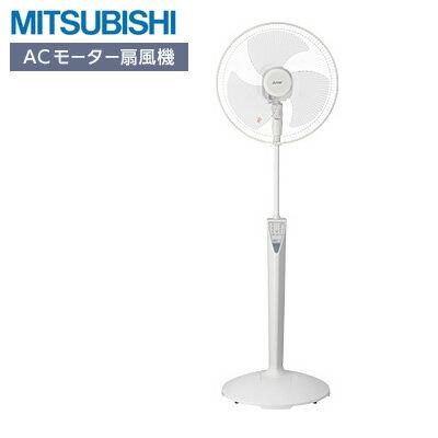 【返品OK!条件付】三菱 ACモーター 扇風機 スタンド扇 本体操作タイプ R40J-MT-W ホワイト 【KK9N0D18P】【140サイズ】