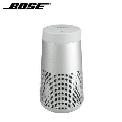 【返品OK!条件付】Bose ワイヤレス スピーカー SoundLink Revolve Bluetooth speaker 360°サウンド 防滴 SoundLinkRevolveGRY ラックスグレー 【KK9N0D18P】【60サイズ】