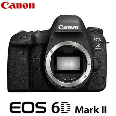 【最大1500円OFFクーポン配布中!〜11/22(木)9:59迄】【返品OK!条件付】キヤノン デジタル一眼レフカメラ EOS 6D Mark II ボディ EOS6DMK2 CANON 【KK9N0D18P】【80サイズ】