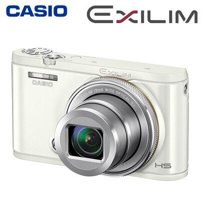 【返品OK!条件付】カシオ コンパクトデジタルカメラ ハイスピード エクシリム EX-ZR4100 ホワイト EX-ZR4100WE HIGH SPEED EXILIM 【KK9N0D18P】【80サイズ】