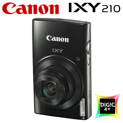 【即納】【返品OK!条件付】キヤノン コンパクトデジタルカメラ IXY 210 イクシー デジカメ コンデジ IXY210-BK ブラック 1795C001 【KK9N0D18P】【80サイズ】