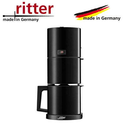 【返品OK!条件付】リッター 1.0L コーヒーメーカー コーヒーマシン カフェーナ5 cafena5 cafena5-B 黒 ritter【KK9N0D18P】【100サイズ】