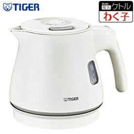【返品OK!条件付】タイガー 電気ケトル 0.6L わく子 PCM-A型 PCM-A060-WM マットホワイト【KK9N0D18P】【80サイズ】