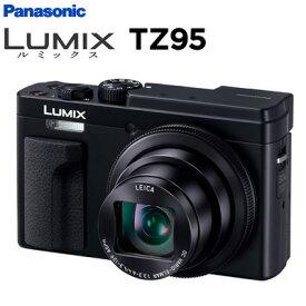 【キャッシュレス5%還元店】【返品OK!条件付】パナソニック デジタルカメラ コンパクトカメラ ルミックス LUMIX TZ95 DC-TZ95-K ブラック【KK9N0D18P】【60サイズ】