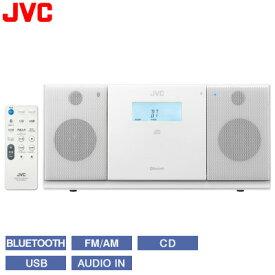 【キャッシュレス5%還元店】【返品OK!条件付】JVC ビクター コンポ コンパクトコンポーネントシステム Bluetooth対応 NX-PB30-W ホワイト 【KK9N0D18P】【100サイズ】