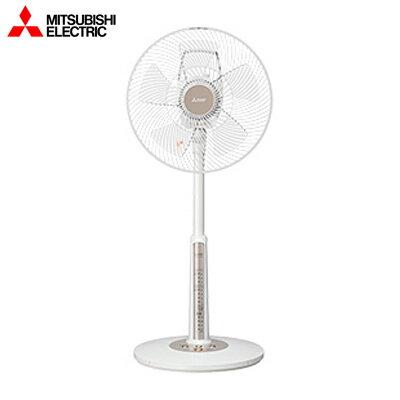 【返品OK!条件付】三菱 ACモーター扇風機 リビング扇 本体操作タイプ R30J-MW-W ピュアホワイト【KK9N0D18P】【140サイズ】