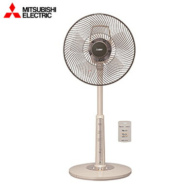 【返品OK!条件付】三菱 ACモーター扇風機 リビング扇 リモコン付タイプ R30J-RW-T ココアベージュ【KK9N0D18P】【140サイズ】