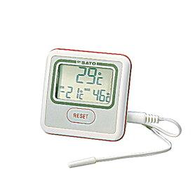 冷凍冷蔵庫用 電子温度計 PC-3300_冷蔵庫 冷凍庫の温度計 _AB4994