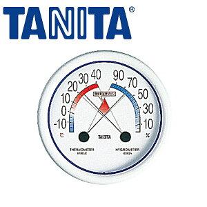 食中毒注意ゾーン付 温湿度計 No.5488_TANITA 温湿度計 おしゃれ タニタ 温湿度計 湿度計 温度計 アナログ _AB5156