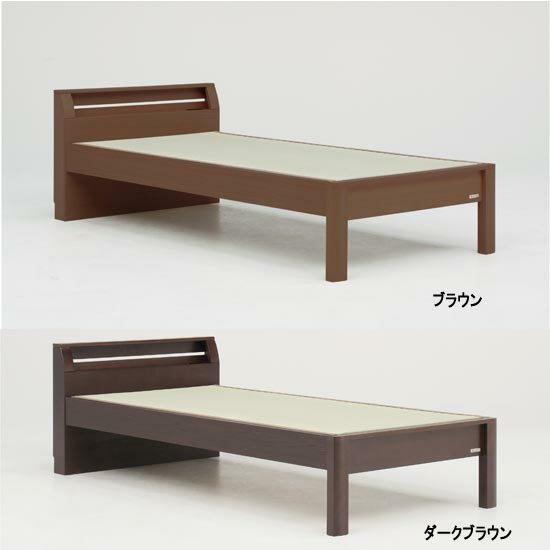 モダンで上質の畳ベッド(キャビネットタイプ・シングル・天音)gn401-1組立設置OK