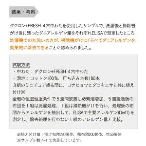 掛け布団クイーン綿100%日本製国産洗えるダクロン(R)DownlikeFiberfill
