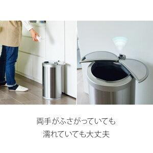 ゴミ箱ダストボックスおしゃれ横24.5×縦24×高さ45ふた付き横開き送料無料12リットル
