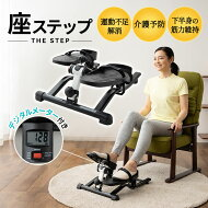 ステッパーダイエットトレーニング運動器座位ペダル運動高齢者