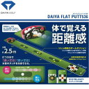 パター練習器具 ダイヤ フラットパット536 TR-536 室内ゴルフ練習用品 ゴルフパッティング練習器具(パット練習マッ…