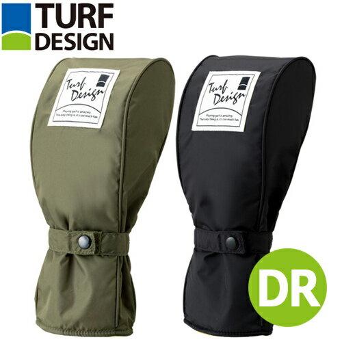ターフデザイン ヘッドカバー ドライバー用(TDHC-1772D)DR/#1/クラブカバー/ウッド/人気モデル【TURF DESIGN(ターフデザイン) 正規品】【メーカー取寄】