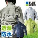 【レインジャケット単品】ターフデザイン ゴルフ レインウェア 耐水性10000mm(TDRW-1674J)防水/透湿 TurfDesign メ…