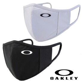 【2021モデル】オークリー マスク OAKLEY Essential Face Cover 2.0 (FOS900768) スポーツマスク エッセンシャル フェイスカバー 洗えるマスク ブラック