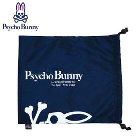 サイコバニー(Psycho Bunny)ゴルフ シューズケース/マルチポーチ PB マルチ巾着(PBMG6SE2-30)日本正規品【W30×H34cm/ユニセックスモデル】【ポイント2倍】※即納・メーカー取寄※