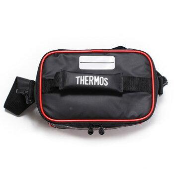 Thermos(サーモス)ソフトクーラー5L(REI-005)カラー:ブラック【断熱構造が冷たさをキープ】◎5リットル◎お弁当を入れるのにも便利なコンパクトサイズアウトドア/クーラーボックス/保冷ボックス※メーカー取寄せ※