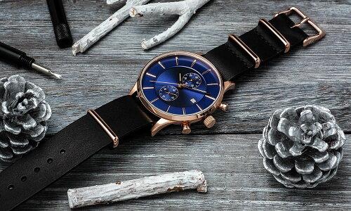 ClassicRoundTheChrono42mmクラシックラウンドクロノグラフ腕時計メンズ(ベルト別売り)