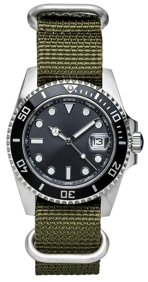 EMPIRE撥水3DナイロンZULUミリタリー4リング時計ベルト腕時計ベルト時計ベルト腕時計ベルト革18mm20mm22mm