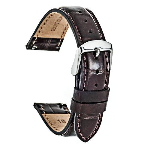EMPIREShinyCroco(シャイニー・クロコ)時計ベルトイタリアンレザー本革バンド18mm20mm22mmダニエルウェリントンにもイージークリック腕時計ベルト時計ベルト腕時計ベルト革