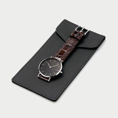 時計1本用収納ポーチダニエルウェリントンクルースなど腕時計の収納にオススメ