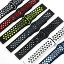 時計ベルト シリコン ラバー 20mm 22mm イージークリック 腕時計交換ベルト 時計バンド