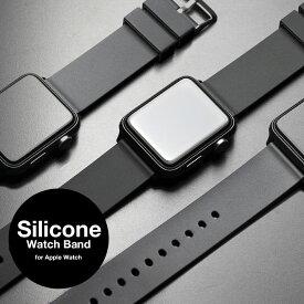 for Apple Watch 6 SE アップルウォッチ バンド スポーツ ベルト 38mm 40mm 44mm 42mm シリコン ラバー おしゃれ ブランド