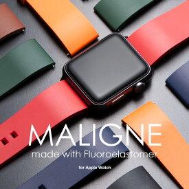 アップルウォッチ バンド ベルト apple watch series 5,4,3,2,1 38mm 40mm 44mm 42mm ラバー おしゃれ ブランド applewatch5 applewatch4 applewatch3