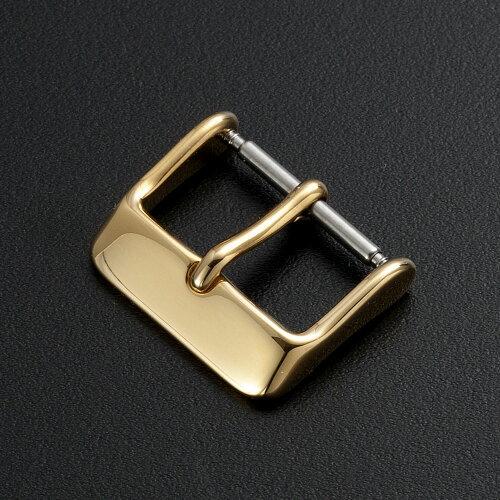 ステンレス時計ベルト尾錠バックルゴールドローズゴールドブラック16mm18mm20mm