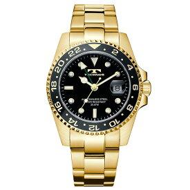 テクノス GMT メンズ 腕時計 T2134GB