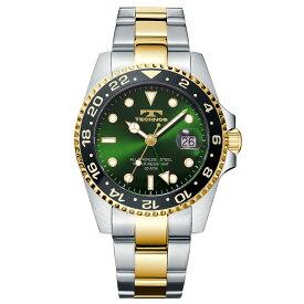 テクノス GMT メンズ 腕時計 T2134TG