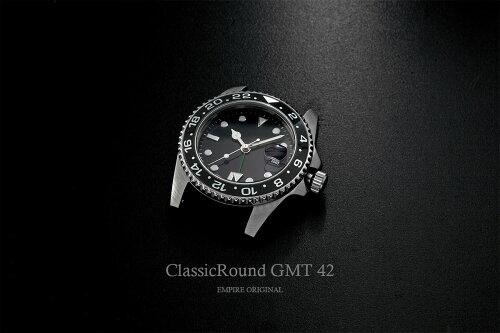 ClassicRoundGMT42mm腕時計メンズ(ベルト別売り)