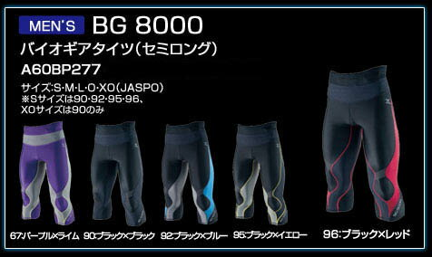 【ネコポス(メール便)選択可】ミズノ mizuno バイオギア BG8000 タイツ A60BP277 メンズ ランニング ジョギング ウォーキング スポーツタイツ
