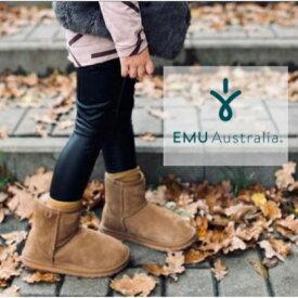 【公式】EMU Australia エミュ Wallaby Mini ブーツ メリノウール キッズ 送料無料