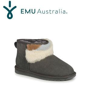 【公式】EMU Australia エミュ Stinger Micro Patchブーツ ムートンブーツ シープスキンブーツ 撥水 送料無料