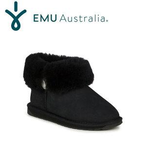 【公式】EMU Australia エミュ Ore Fold Over ブーツ ムートンブーツ シープスキンブーツ 撥水 送料無料