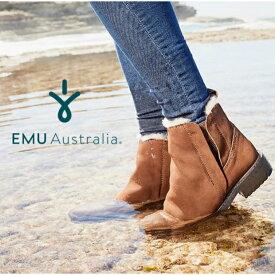 【公式】EMU Australia エミュ Pioneer ブーツ サイドゴア メリノウール レディース 防水 送料無料