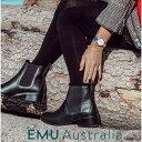 【公式】EMU Australia エミュ Ellin 防水 メリノウール サイドゴア ショートブーツ レディース ブーツ 送料無料