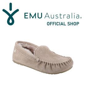 【公式】EMU Australia エミュ Cairns ケアンズ モカシン ムートン シープスキン ファー スリッポン レディース 送料無料