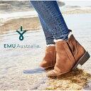 【スーパーセール限定特価】【公式】EMU Australia 防水 エミュ Pioneer ブーツ サイドゴア メリノウール ショートブーツ レディース 送料無料