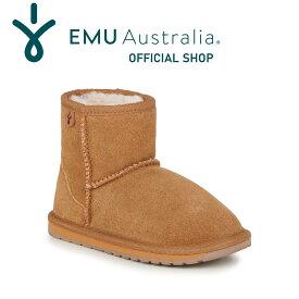 【期間限定10%OFFクーポン 11/30 13:59まで】【公式】EMU Australia エミュ Wallaby Mini ブーツ メリノウール キッズ 送料無料
