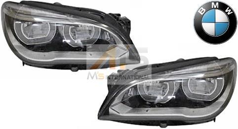 【M's】F01 F02 F03 F04 BMW 7シリーズ 後期(2012y-2015y)純正品 LEDヘッドライト 左右//740i 740Li 750i 750Li 760Li アクティブハイブリッド 7L 6311-7348-498 6311-7348-499 63117348498 63117348499