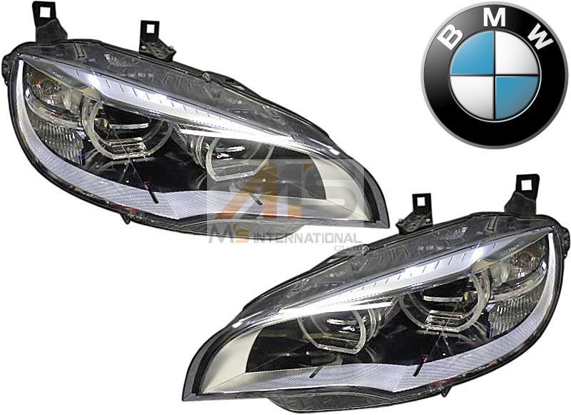 【M's】E71 BMW X6/X6M 後期(2012y-2014y )純正品 LEDヘッドライト 左右//xDrive35i xDrive50i アクティブハイブリッド4WD 6311-7359-369 6311-7359-370 63117359369 63117359370