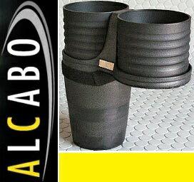 【M's】F30 F31 F34 F80 BMW 3シリーズ (2012y-)ALCABO ドリンクホルダー(ブラック カップタイプ)//アルカボ カップホルダー 黒 F30AH セダン アクティブハイブリット ツーリング GT M3 AL-B111B ALB111B