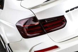 【M's】BMW 3シリーズ F30(2012.1-)スモーク テール ランプ カバー 左右 / ENERGY MOTOR SPORT エアロ // エナジー モーター スポーツ / garage EVE.RYN